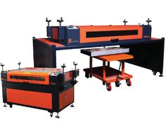 """SN2034 Laser Engraving Machine - fully equipped with a 30"""" x 24"""" work area, removable laser top, EZ-Leveling System, and a high power 100w laser tube, the SN3024 laser machine is ideal for engraving just about anything. Learn more: http://aplazer.com/sn3024-laser-machine/"""