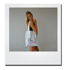 Amazing Tote bag for all of your pole needs! Only €19.00 available on polestreet.com!