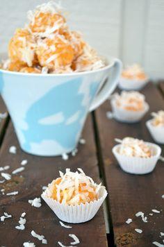 Pumpkin-Coconut Balls (Beijinho de Abobora com Coco). #GlutenFree