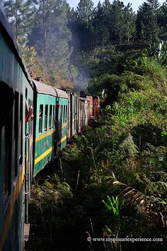 Colonial era railroad, SE Madagascar ~ Fianarantsoa-Côte Est (FCE) was built by the French between 1926-36. Photo: My Planet Experience via Flickr