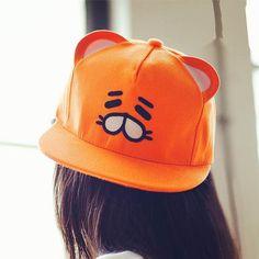 Kids Baseball Cap Fun Adjustable Button Baseball Hat for Ages 4-12 Teen-Titans-Go