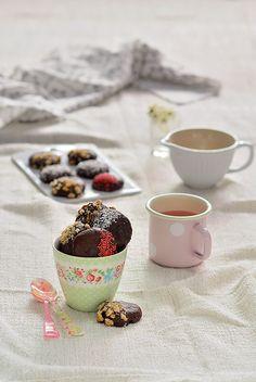 ¡Qué cosa tan dulce!: Galletas de cheesecake de chocolate {chocolate cheesecake cookies}