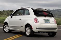 The 15 Least Expensive Convertibles You Can Buy: Fiat 500C