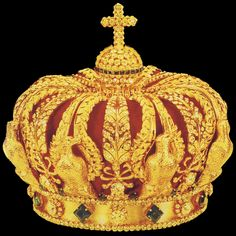 Corona Imperial de Francia Imperial Crown of France
