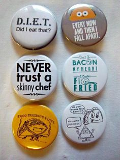 24 Best Funny Humor Buttons Pins for Backpacks Jackets