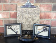 Vintage  Rustic Industrial Farmhouse Key Art