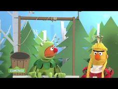 Der Froschkönig mit Ernie und Bert - Sesamstraße - NDR - ARD - YouTube Learning German, Fairy Tales Unit, German Fairy Tales, Learn Another Language, German Language, Winter Holidays, Elementary Schools, Projects To Try, Germany