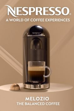 Every Nespresso capsule contains a unique experience that's ready to be discovered. Your Nespresso Vertuo adventure awaits.