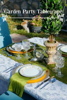 Jordan's Onion: Garden Party Tablescape
