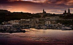 Gozo, small island south of Malta