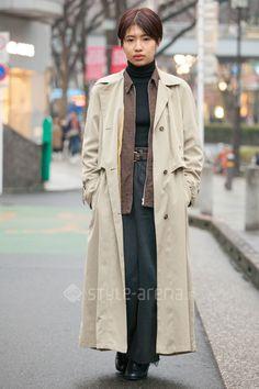 Manami | used MARGARET HOWELL  UNIQLO Roots Levi's steven alan | 3rd week  Mar. 2017 | Omotesando | Tokyo Street Style | TOKYO STREET FASHION NEWS | style-arena.jp
