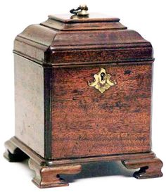 Chippendale Tea Caddy, circa 1760