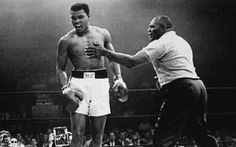 Float like a butterfly - Sting like a bee. George can't hit what George can't see.