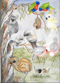 Lesley uses vibrant colours to capture the essence of Australia's flora, fauna and iconic images in her art. Essence Of Australia, Vibrant Colors, Colours, Sketch A Day, Australian Artists, Drawing S, Watercolour, Markers, Families