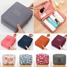 b3985e89c79 Travel Cosmetic Makeup Bag Toiletry Case Storage Hanging Pouch Wash  Organizer