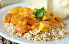 Coconut Chicken Curry - I really liked this one - especially after I added a bit more curry.