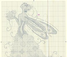 Pixie Couture_Lilac - 2/3 Solo Patrones Punto Cruz (pág. 441) | Aprender manualidades es facilisimo.com