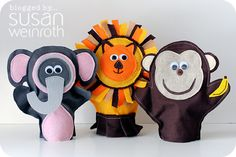 more puppets ideas - this one has a link to a great pattern