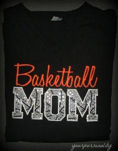 Basketball MomDADSports mom dad uncle aunt grandma