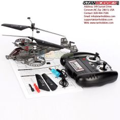 Stan Hobbies is a leading specialty retailer of radio control airplanes and helicopters, as well as the #1 volume dealer for E-flite, HobbyZone, and ParkZone. Same-day shipping available.