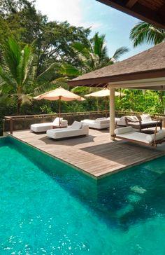The Como Shambhala Estate, Ubud, Bali, Indonesia.