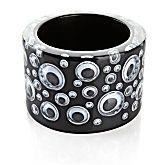 I have a weak spot for googlies. Rara Avis by Iris Apfel - Googly Eyes Black Resin Bangle. Cute Jewelry, Boho Jewelry, Vintage Jewelry, Bangle Bracelets, Bangles, Necklaces, Rara Avis, Jewellery Sketches, Googly Eyes