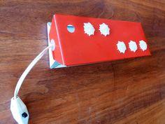 Retro 60s /// Bed Lamp STARS /// Tilt  Swivel by TrackofTime, €22.50
