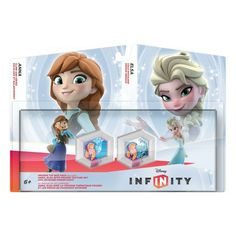 Disney Infinity Frozen Elsa & Anna Toy Box Set