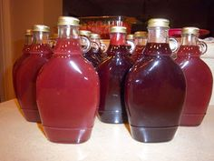 Canning Homemade!: Canning Syrups - Corn Syrup or Clear Jel which is the better texture? Canning Tips, Home Canning, Canning Recipes, Easy Canning, Canning Syrup, Fruit Pancakes, Waffles, Sauces, Strawberry Syrup
