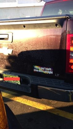 This one: | 27 Bumper Stickers That Are Actually Funny