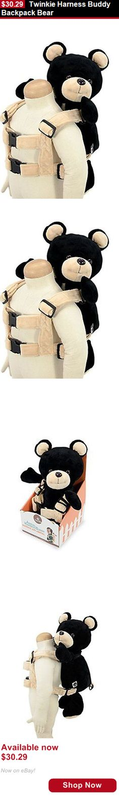 Toddler Safety Harnesses: Twinkie Harness Buddy Backpack Bear BUY IT NOW ONLY: $30.29