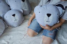 Handpainted pillow bear