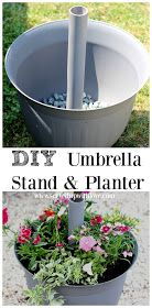 Served Up With Love: DIY Umbrella Stand & Planter