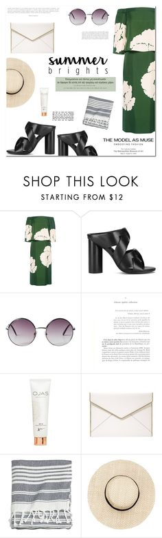 """Summer"" by makeupgoddess ❤ liked on Polyvore featuring TIBI, Esteban Cortazar, Senso, Monki and Rebecca Minkoff"