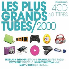 Les plus grands tubes années 2000 CD DIGIPACK 4 CD  Audio NEUF