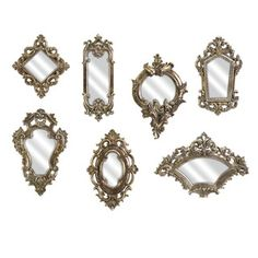 Loletta Victorian-inspired Mirrors (Set of 7)
