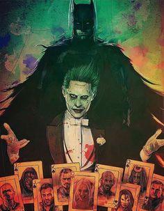 Poster Suicide Squad Batman