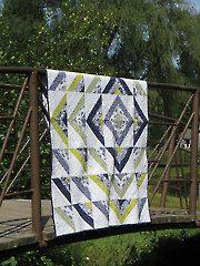 Quilt - Patterns - Pieced Patterns - Lap Quilts - Ripple Quilt Pattern