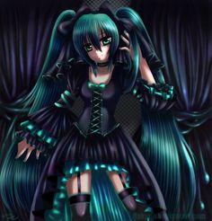 TSS - Gothica Lolita influence