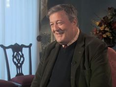 """Stephen Fry left a television host stunned when he explained what he would say if he was """"confronted by God""""."""