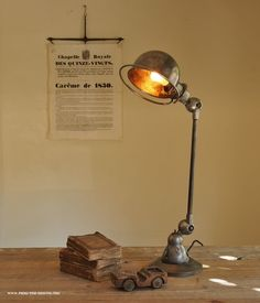 Jielde @ Five From The Ground Industrial Style, Industrial Desk, Desk Lamp, Table Lamp, Steampunk Furniture, Machine Age, Lightning, Lamps, Home Decor
