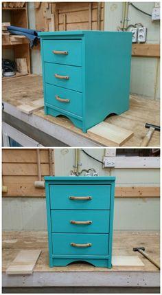 Under Desk File and Drawer Cabinet