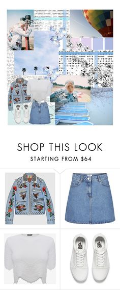 """""""Gucci_RapMon_"""" by jina-7 ❤ liked on Polyvore featuring Gucci, Alexander McQueen and Vans"""
