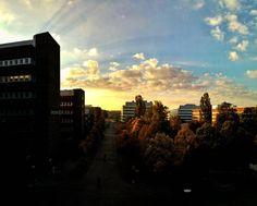 Autumn has arrived..... #autumn #kista #sunrise