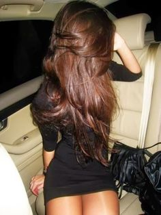long layered hair,color. Everything about it is perfect