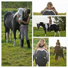 Emmalie loves horses! !!!