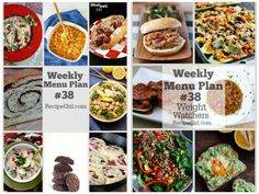 Sharing a Weekly Menu Plan to help you figure out what to make for dinner next week.