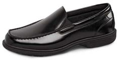 A supremely comfortable slip-on from Nunn Bush.  This is VERY popular this year and we've received a lot of positive feedback.  Sizes 7–11, 12, 13, 14, 15 in 3E; 8–11, 12, 13, 14 in 5E.