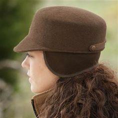 Womans-wool-felt-cap-Beretta_USA http://beretta1.sites.hubspot.com/five-fabulous-gift-ideas-for-the-lady-hunter-or-shooter