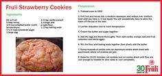 Cooking with Beer: Fruli Strawberry Cookies Strawberry Cookies, Cooking With Beer, Eat Your Heart Out, Nom Nom, Oven, Vegetables, Recipes, Food, Meal